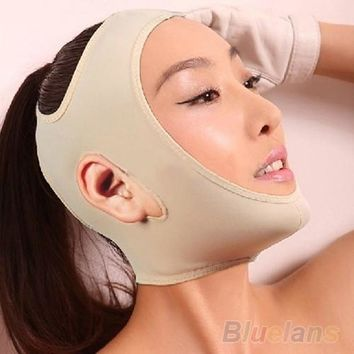 Wrinkle V Face Chin Cheek Lift Up Slimming Slim Mask Ultra-thin Belt Strap Band = 1651428164