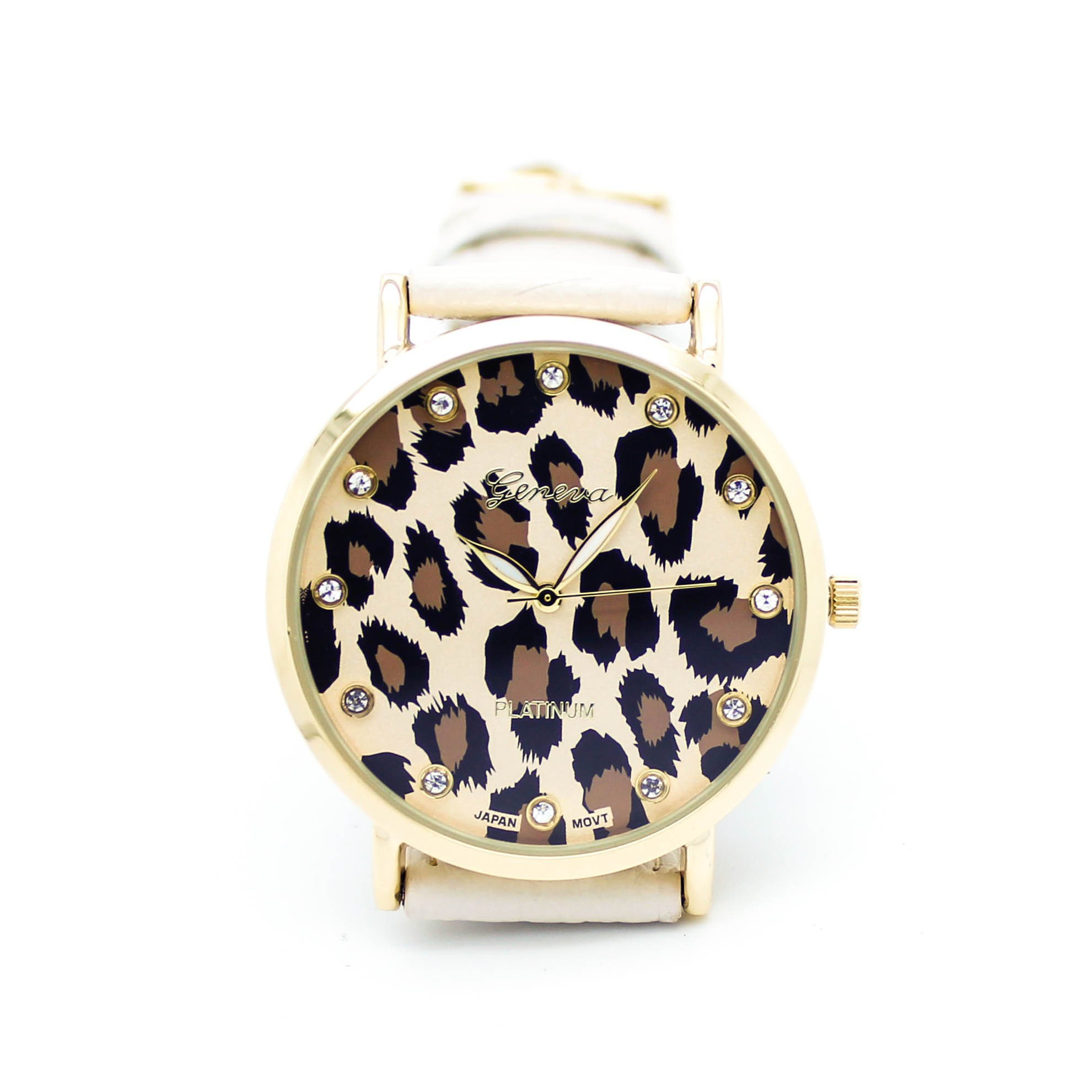 Image of Leopard print watch (4 colors)