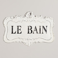 Le Bain Sign - World Market