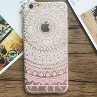 Fashion women unique Lace mobile phone case for iphone 5c 5 5s SE 6 6s 6plus 6s plus + Nice gift box!