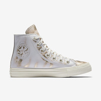 The Converse Chuck Taylor All Star Brush Off Leather High Top Women's Shoe.