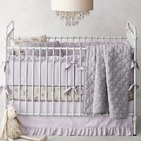 Frayed Ruffle & Vintage Butterfly Nursery Bedding Collection
