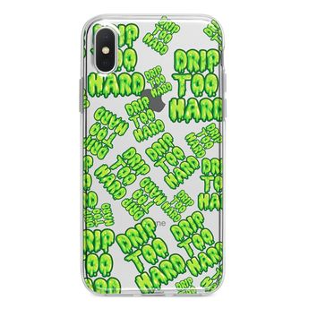 ALL OVER DRIP TOO HARD CUSTOM IPHONE CASE