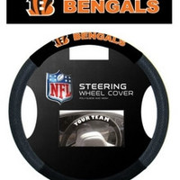 Cincinnati Bengals Steering Wheel Cover - Mesh