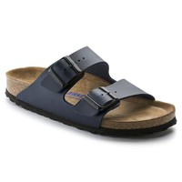 Arizona Soft Footbed : Navy Synthetic