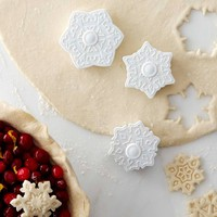 Williams-Sonoma Snowflake Pie Crust Cutters, Set of 3