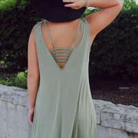 Resort Ready Dress - Olive