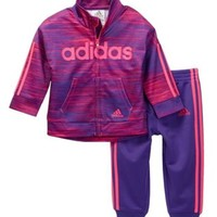 LMFON adidas | Speed Heather Tricot 2-Piece Set (Baby, Toddler, & Little Girls) | Nordstrom Rack