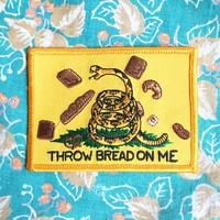 THROW BREAD ON ME Patch by Brad Rohloff