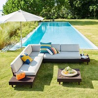 Portside Low L-Shaped Sectional