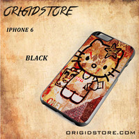 Obey Hello Kitty For Iphone 6 Snap On and 3D Case
