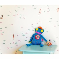 With the Birds Removable Wallpaper