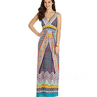 Angie Printed Maxi Dress | Dillards.com