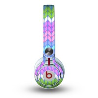 The Bright-Colored Knit Pattern Skin for the Beats by Dre Mixr Headphones