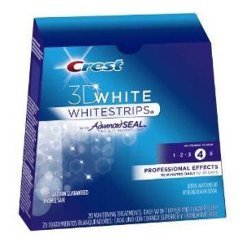 Amazon.com: Crest 3d White Professional Effects Teeth Whitening Strips 20 Count: Health & Personal Care