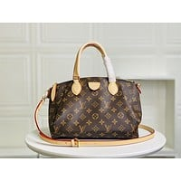 LV Louis Vuitton Women's Leather Shoulder Bag Satchel Tote Bags Crossbody 30.5*22*17CM