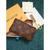LV Louis Vuitton Women's Leather Fashionable Tote F