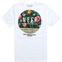 Neff Rosal Empire T-Shirt - Mens Tee - White