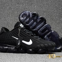 Nike air Vapormax Black/White Running Sport Cushion Shoes Size 40-47