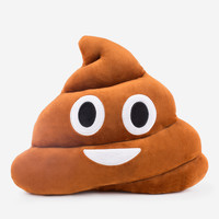 Emoji Pillows - Poop