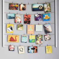 Dorm Decor Twine After Time Photo Hanger Kit by ModCloth