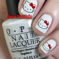 Hello Kitty Nail Decals