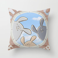 hello, are you there? Throw Pillow by Artemio Studio