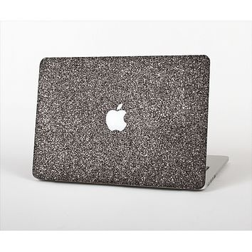 The Black Glitter Ultra Metallic Skin Set for the Apple MacBook Air 13""
