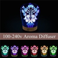 Essential Aroma Diffuser Ultrasonic Humidifier Aromatherapy 3D Effect