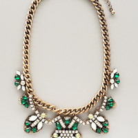 Emerald Czarina Statement Necklace