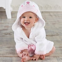 "Baby Aspen ""Little Princess"" Hooded Spa Robe"