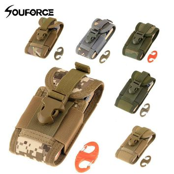 6 Colors Tactical Phone Bag Universal Army Bag for Mobile Phone Hook Cover Pouch Case
