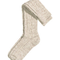 H&M Wool-blend Knee Socks $9.99