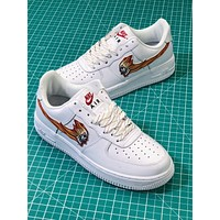 Fre X Naf Nike Air Force 1 Retro Wisp Sport Shoes