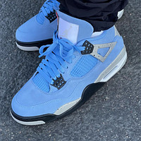 Nike Air Jordan 4 University Blue Basketball Shoes Sneakers