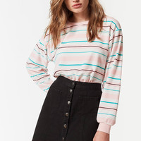 UO Scout Striped Sweatshirt | Urban Outfitters
