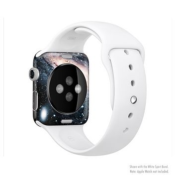 The Swirling Glowing Starry Galaxy Full-Body Skin Kit for the Apple Watch