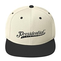 Presidential Clothing Co P On Back | Snapback Hat