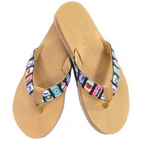 Smathers & Branson Beer Cans Flip Flops