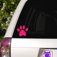 Cat Paw Print Car Window Decal