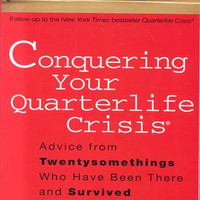 """Conquering Your Quarterlife Crisis: Advice from Twentysomethings Who Have Been There and Survived by Alexandra Robbins  (Bargain Books) - Plus Free """"Read Feminist Books"""" Pen"""