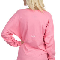 Long Sleeve V-Neck Jersey
