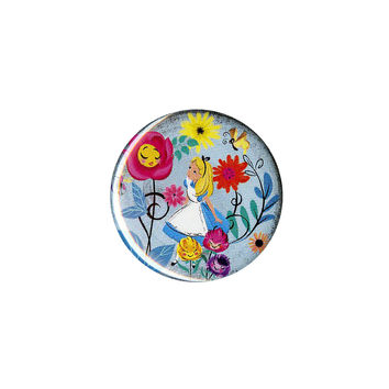 Disney Alice In Wonderland Flower Garden Pin