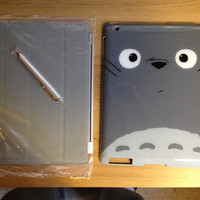 My Neighbour Totoro new iPad/ iPad 2 Case With Magnetic Smart Cover and Stylus