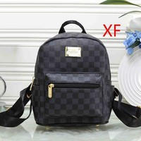 Louis Vuitton New Fashion Women Leather Bookbag Shoulder Bag Handbag Backpack