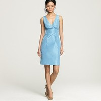 Silk taffeta Alisanne dress - J.Crew