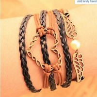 Shiny Hot Sale Gift Awesome New Arrival Stylish Great Deal Vintage Creative Set Accessory Handcrafts Bracelet [6057233665]
