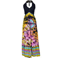 Hypnosis Halter Dress on Sale for $39.99 at HippieShop.com