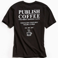 Publish Coffee Tee | Urban Outfitters
