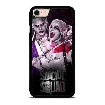 HARLEY QUINN SUICIDE SQUAD JOKER iPhone 8 Case